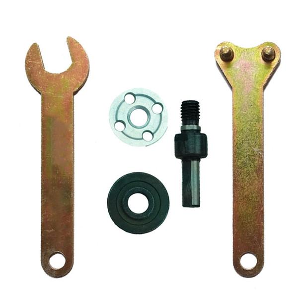 5 pièces//set Perceuse Angle de conversion de meulage outil Bielle Convertisseur