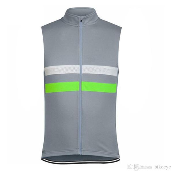RAPHA ROCK RACING team Maglia senza maniche maglia 100% poliestere Top Quality Estate Homme Ropa ciclismo Abbigliamento sportivo all'aperto C2308