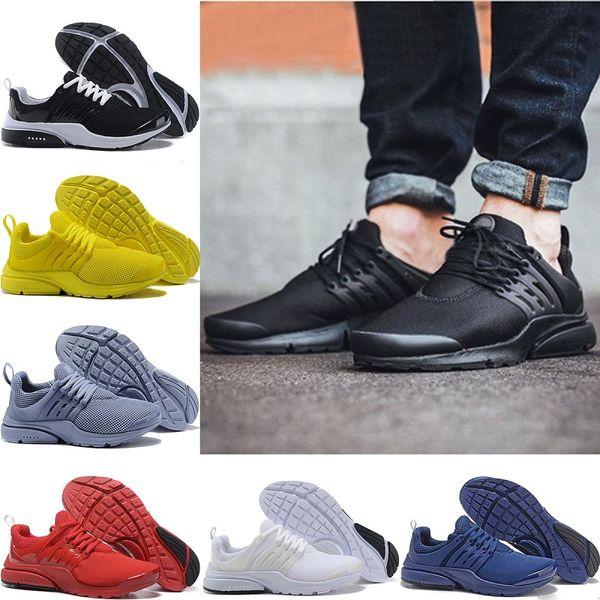 nike air presto shoes Venta al por mayor barato Presto Ultra Zapatillas para hombre Mujeres Prestos ultra BR QS Amarillo Rosa Oreo Moda casual Zapatillas de deporte en línea tienda