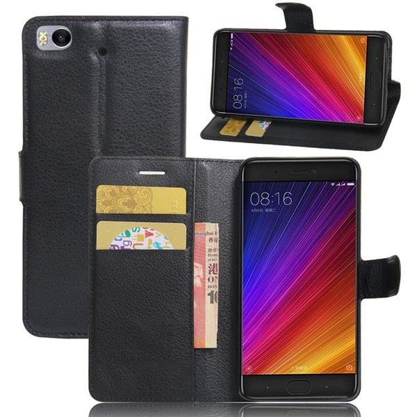 For Xiaomi Mi 5s Case 5.15 inch Wallet PU Leather Back Cover Phone Case For Xiaomi Mi5s Mi 5S Case Flip Protective Bag Skin