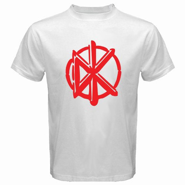 New The Factory Outlet Logo Punk Rock Band Men's White T-Shirt Size S To 3Xl Tees Shirt Men Boy Gorgeous White Short Sleeve