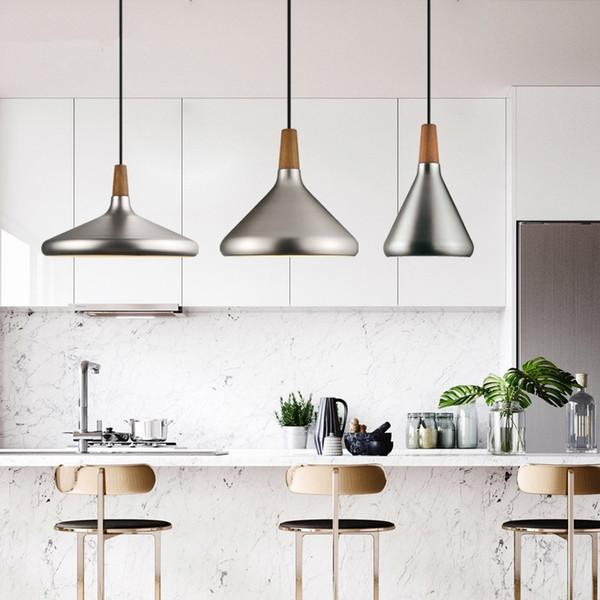 Nordic Retro Pendant Lights Modern Led Pendant Lamps Copper Hanglamp Aluminum Luminaria Led For Living Room Kitchen Light Fixtures Plug In Pendant