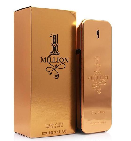 Горячие духи! rabanne Gold Million парфюмерный человек 100 мл с длительным временем миллион