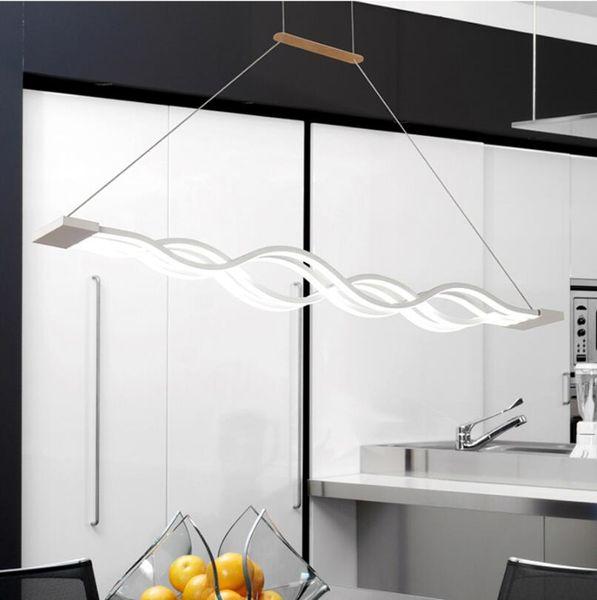 Compre Luces Colgantes Led Modernas Y Creativas Cocina Lámpara ...