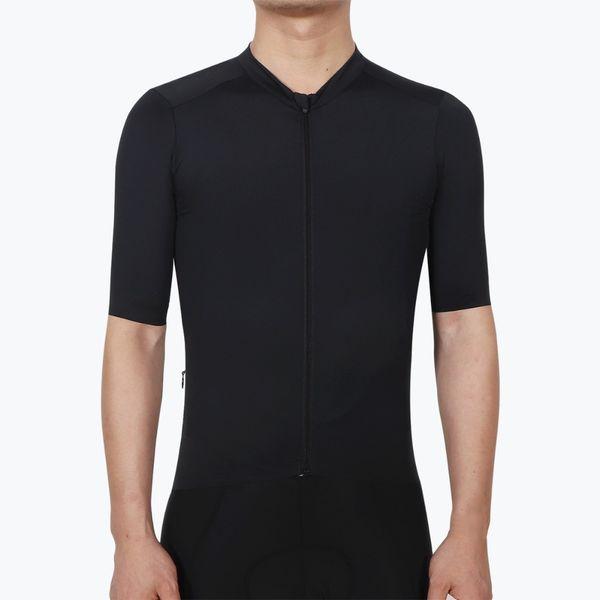 SPEXCEL 2018 New Top Quality black Pro Team aero Short sleeve cycling jersey  race fit Unisex 259b15236