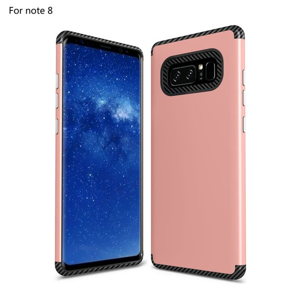 Carbon Fiber Case For Samsung Galaxy S8 Plus Note 8 J5 Prime j2 J3 ON5 ON7 2016 A3 A5 A7 2017 Protective Phone Back Cover Anti-knock Shell