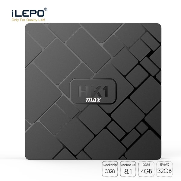 HK1 Max Tv Box Rockchip RK3328 Android 8.1 Tv Box 4GB 32GB Media Player WiFi 2.4G 4K Ultra Smart Tv Box Better MX10 H96 Max Pro