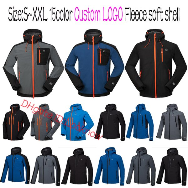 Wholesale Brands TOP Quality Outdoor Shell Jacket Winter Brand Hiking Softshell Jacket Men Windproof Waterproof Thermal For Hiking Camping