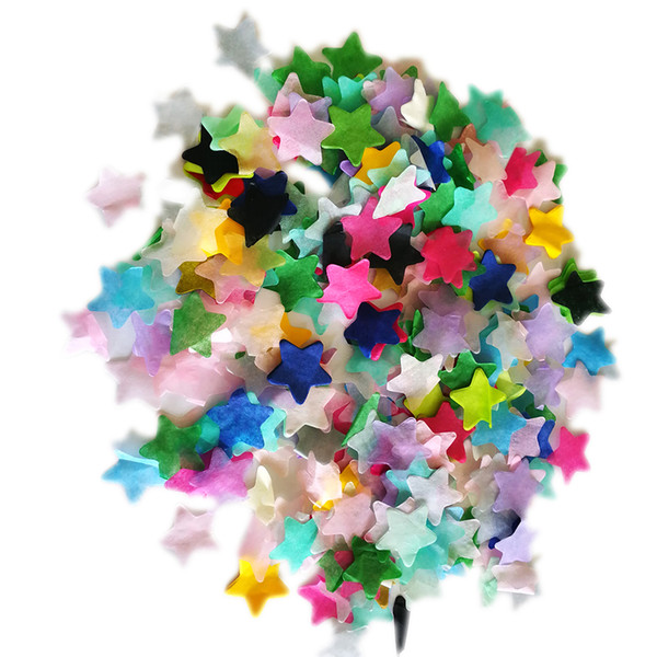 Decorazioni di nozze del partito di coriandoli di carta multicolore di 1 pollice 4 Oz multicolore