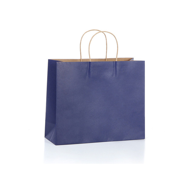 """100 Pcs Kraft Paper Retail Shopping Merchandise Party Gift Bags 12""""x4""""x10"""" with Rope Handles"""