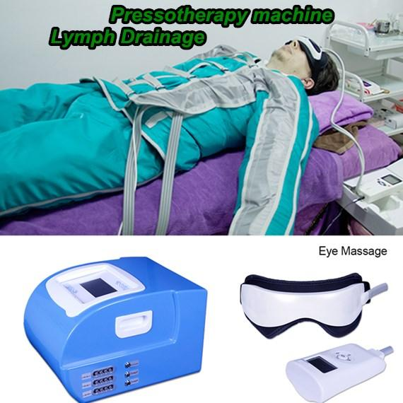 Newest Pressotherapy No Pain Body Shaping Device Lymph Drainage Fat Dissolve Cellulite Removal Slimming Machine With Far Infrared