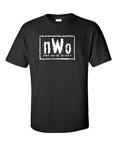 2018 Special Offer Fashion O-neck Cotton Print Short Tee4u Custom Shirts Men's Broadcloth New World Order Tee