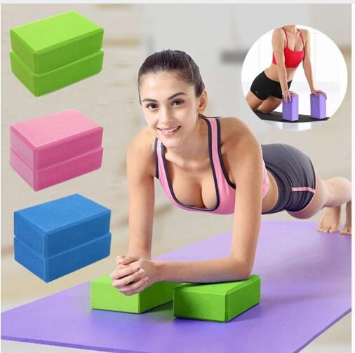 Yoga Block Brick Sports Exercise Gym Soft Sweat-absorbent Foam Workout Stretching Aid Body Shaping Health Training