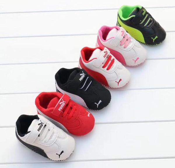 Moda Outono Inverno Novo Sapatos de Bebê Meninas Menino Primeiros Caminhantes Sapatos Recém-nascidos 0-18 M Sapatos Primeiros Caminhantes