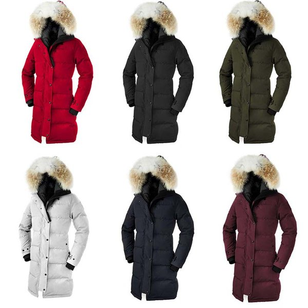 E33 Wolf Fur Women Model Goose Down Jacket Shelburne High Quality With Faster Shipping Speed Women's Down Parkas DHL Free shipping lol