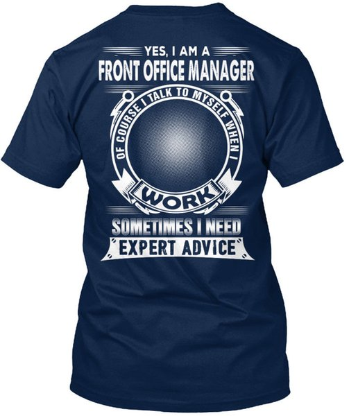 Stylish Front Office Manager Stylisches T-Shirt Stylisches T-Shirt (S-3XL) Tee Shirt for Men Fashion Short Sleeve Cotton Custom Big Size Men