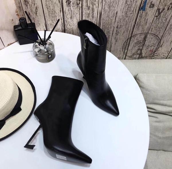 10 cm cómodos tacones altos de lujo superior diseñador de moda marca zapatos de mujer estación europea zapatos moda venta directa de fábrica