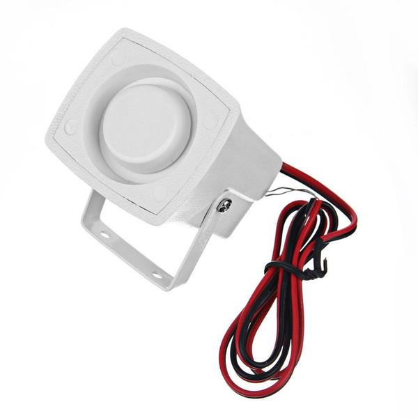 Piccolo allarme per sirena da esterno o per interno cablato - 120dp MOLTO FORTE per sistemi di allarme a 12 volt