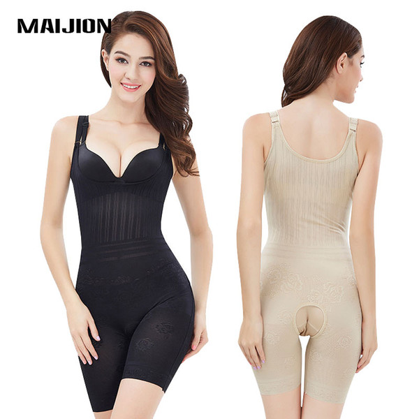 wholesale Women's Lift Up Hip Waist Slimming Bodysuits,Sexy Open Crotch Design Body Shaper,Thigh Reducer Firm Corset Tummy Control