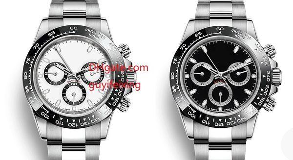 2 color men 039 automatic watche 40mm ceramic bezel 116500 no chronograph movement tainle teel men port wri t watche