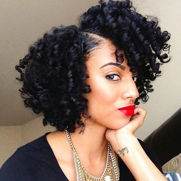Kinky Curly 130% Density Lace Front Virgin Human Hair Wigs With Baby Hair For Black Women Full Lace Wigs