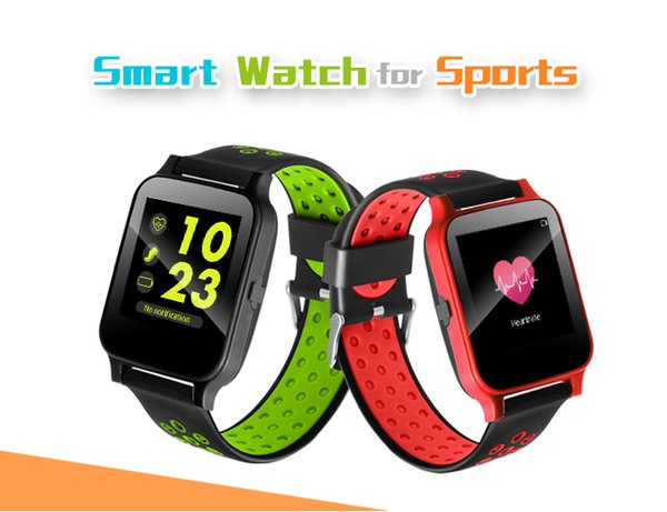 Y60 1.54 polegada tela do bluetooth smart watch à prova d 'água smartwatch ip68 heart rate monitor pedômetro remoto para android / ios