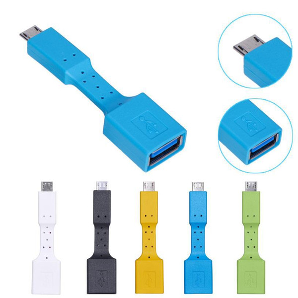 One-piece Type-C to USB Adapter OTG Cable USB-C Data Charge Cord for Macbook and Samsung phones