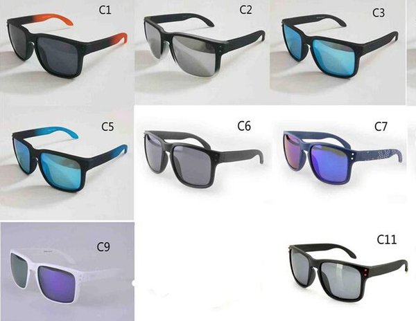 SAME PICTURE TR90 frame 2018 NEW man women brand sunglasses Designer 9102 High quality polarizedlens sunglasses color11 MOQ=5