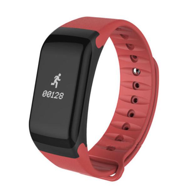 Outdoor Smart Bracelet F1 Sport Smart Watches Fitness Tracker Waterproof Pedometer Wristband Mens Clock Wrist Watches Gift