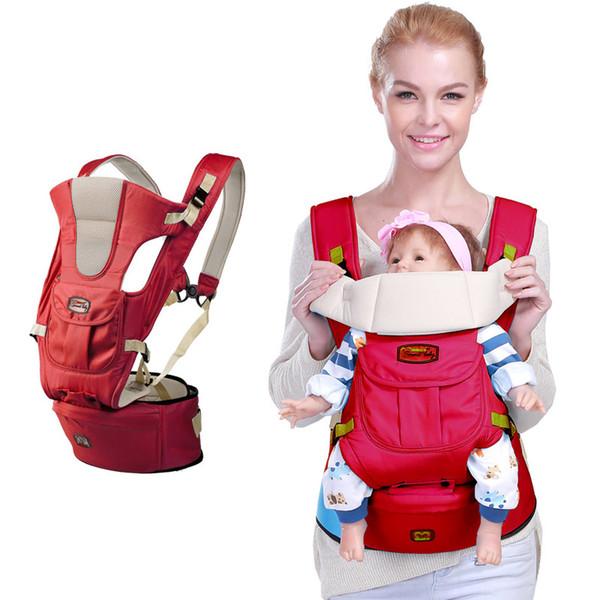 Sac à dos Porte-bébé Porte-bébé Infant Toddler Sling Bag Gearw Hipseat Enveloppement Nouveau-Né Coat Manteau