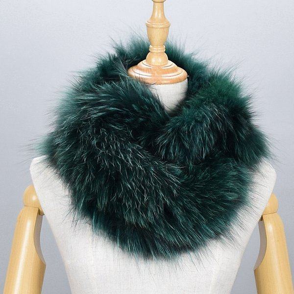 Großhandel 100% Naturfell Schal Luxus Silberfuchs Pelzkragen Schal Frauen Echte Fox Kragen Unten Tragen Schal Großhandel Von Watchoutbaby, $58.88 Auf