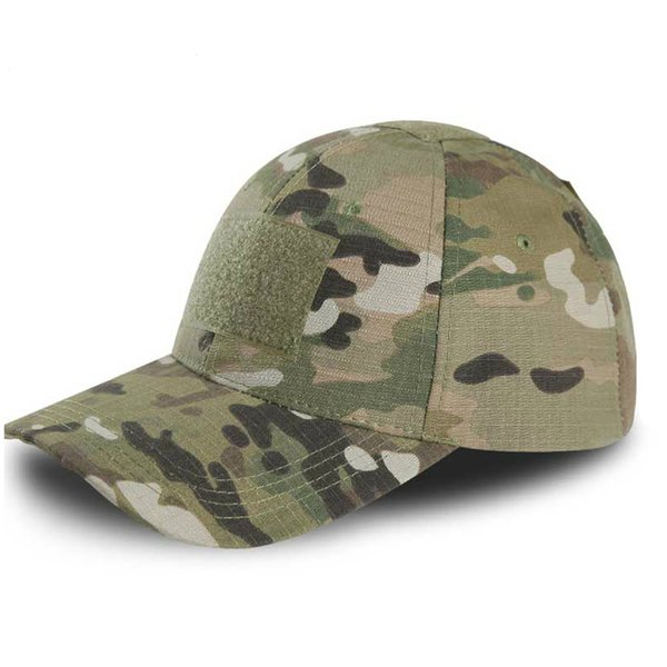 New Outdoor Adjustable Multicam Camouflage Hats For Men Snapback Tactical Cap Paintball Combat Army Hats