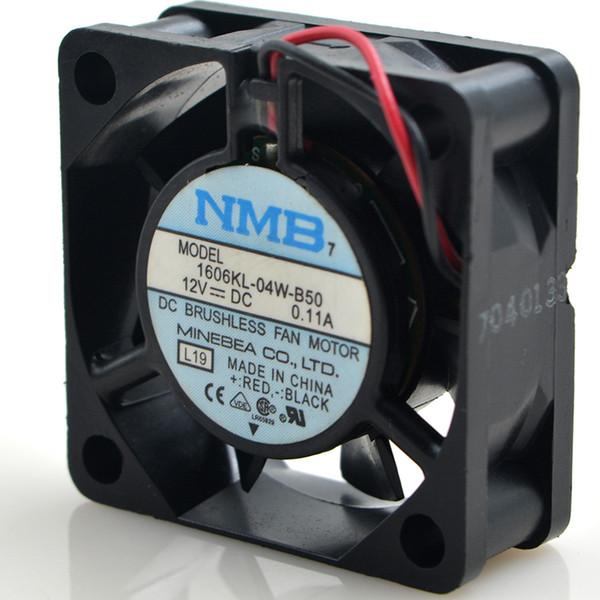 top popular NMB 4015 12V 0.11A 4CM ultra quiet cooling fan 1606KL-04W-B50 2021
