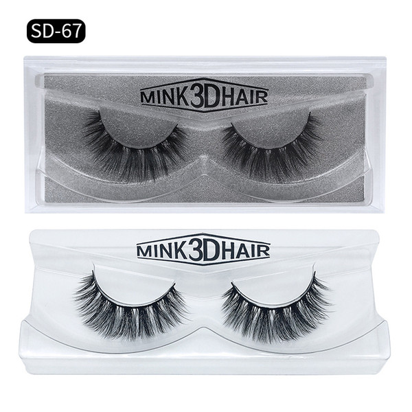 top popular 3D Mink Eyelashes Long Lasting Mink Lashes Natural Dramatic Volume Eyelashes Extension False Eyelashes Free DHL 2020