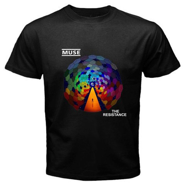 New MUSE *The Resistance Rock Band Men's Black T-Shirt Size S M L XL 2XL 3XL Official T-Shirt New ,T Shirt Top Tee, Mens 2018 New Tee,