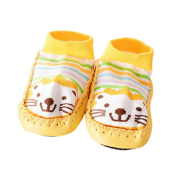 2017 spring autumn girls shoes princess Cartoon Kids Toddler Baby Anti-slip Sock Shoes Boots Slipper Socks 17Dec26