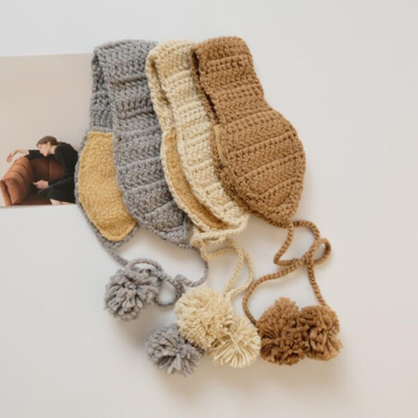 Winter new knitted ear cover warm ear cover Korean version lovely ear warm female manufacturer direct selling