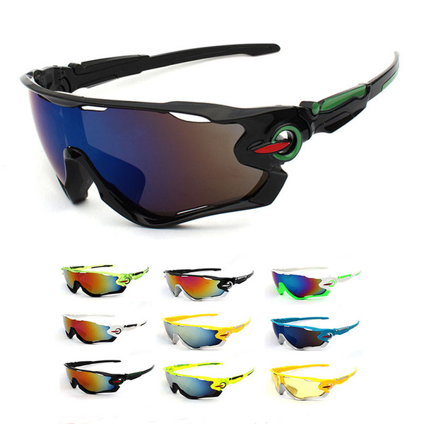 best selling 2018 Bestselling Cycling Glasses Bike Eyewear Sports Sunglasses Bicycle Goggles Drop Shipping Are Available