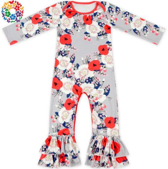 Fall Baby Romper Long Sleeve Girls Boutique Clothing Onesies Clothes Baby Christmas Unicorn Pajamas One Piece Baby Girl Rompers