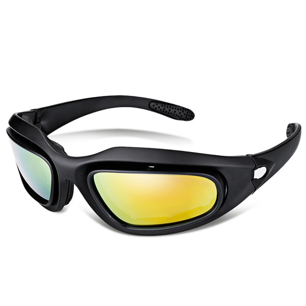 Outdoor Sports Sun Glasses Tactical Hunting UV Protection Cycling Goggles Cycling MTB UV Protection Sunglasses Fishing Climbing Goggles