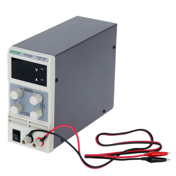 Freeshipping 0-30V 5A Mini DC Power Supply Practical Switching Power Supply LED Display Digits Variable Adjustable AC 110V/220V 50/60Hz