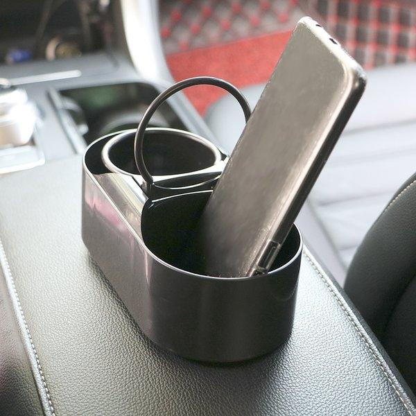 Auto Cup Holder Auto Zubehör Multifuntional Wasser Getränkehalter Dual Loch Trinken Flasche Auto Truck Phone Mount Organizer