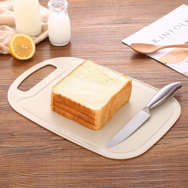 Placa de Cozinha-Essencial Mildew e antiderrapante Palha De Trigo Cortar Blocos Casa De Corte De Legumes e Pão Eco-Friendly LZ1086
