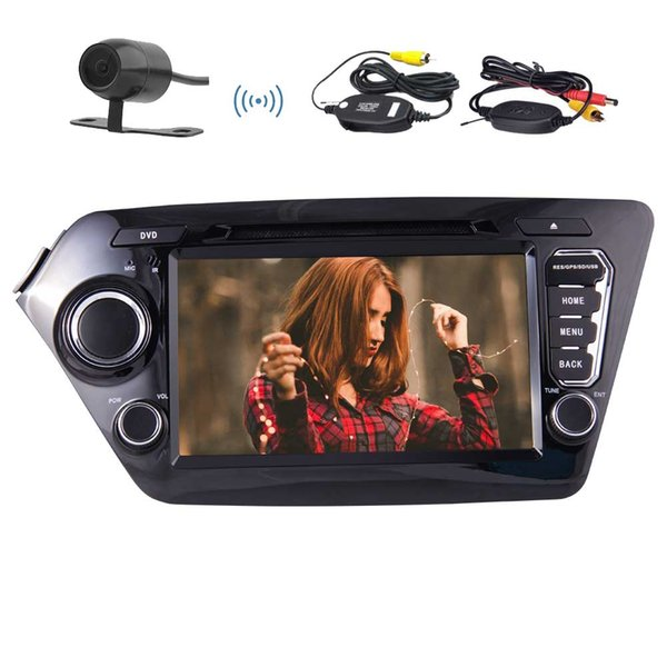 """Eincar 8"""" for KIA K2(2011~2012) Car DVD Player Android 7.1 Quad Core Car Stereo Double Din Dash GPS Navigation Wireless camera"""