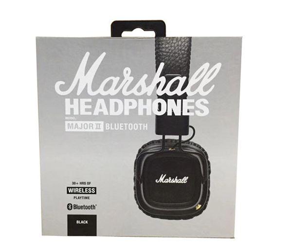 Mar hall major ii 2 0 bluetooth wirele headphone dj headphone deep ba noi e i olating head et earphone for mart phone epacket free