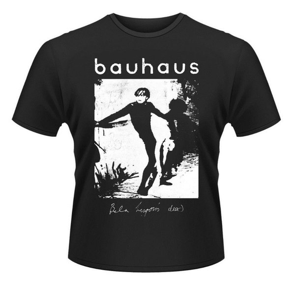 Screen Printing T Shirts O-Neck Men Bauhaus Bela Lugosi's Dead T-Shirt Comfort soft Short Sleeve Shirt