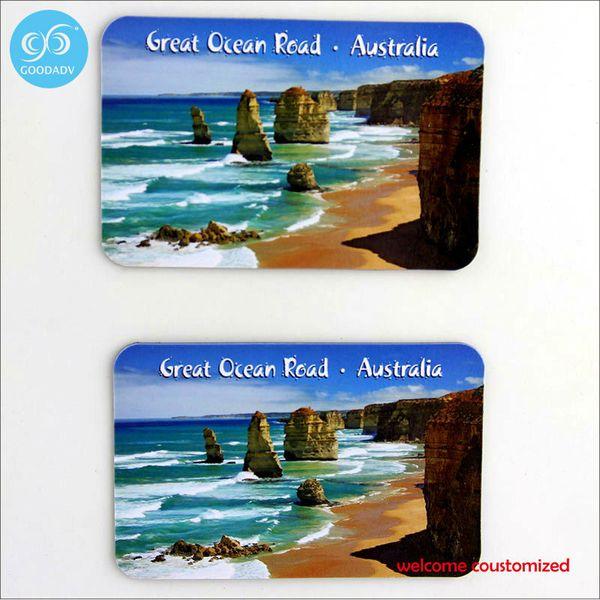 custom good quality tourist souvenir cardboard fridge magnet /paper cardboard refrigerator fridge magnet custom design only