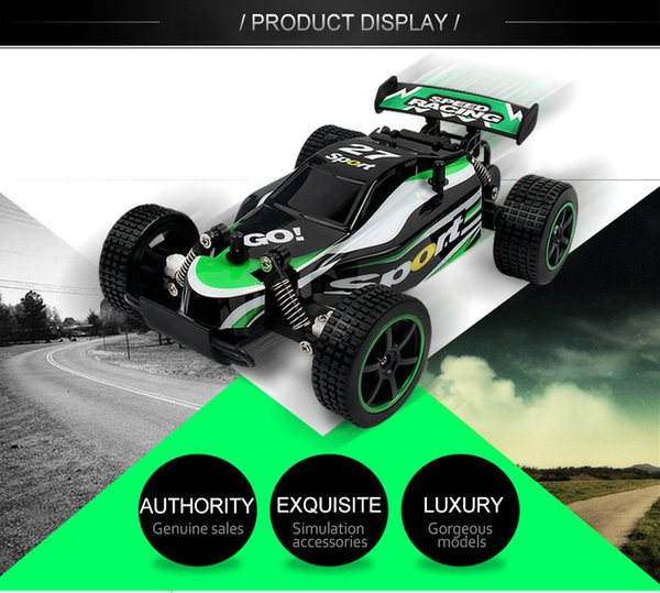 Factory direct sale 2.4G high speed remote control cross country drift climbing vehicle charging high speed remote control toy car