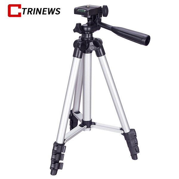 Professionelle Protable Kamera Stativ mit Rocker Arm für Canon Nikon Sony DSLR Kamera Camcorder Reise Stativ Halter Stand