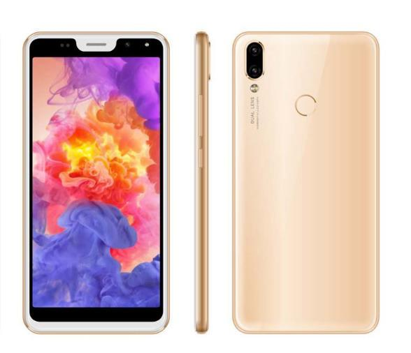 New external single smart phone customization, Android 5.72 inch 18:9 full screen, P20 appearance Low price mobile phone 3g